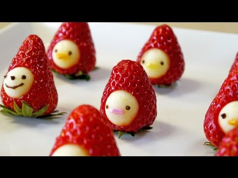 """How to make """" Strawberry Men"""" Moso-Style"""