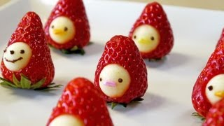 "How to make "" Strawberry Men"" Moso-Style"