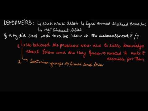 REFORMER SHAH WALI ULLAH: Why did he wish to revive Islam?