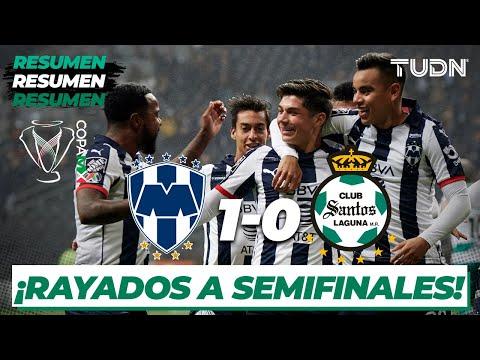 Resumen | Rayados 1 - 0 Santos | Copa Mx - Cuartos De Final 2020 | TUDN