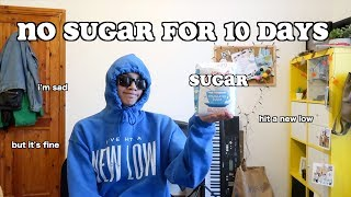 i quit sugar for 10 days - part 3 | clickfortaz