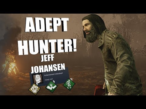 ADEPT JEFF! | Dead By Daylight JEFF JOHANSEN Achievement