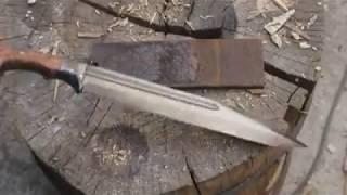 como hacer un cuchillo de muelle