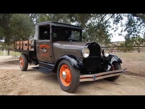 1928 Ford Model A Stake Bed Pick-up (Sorry Sold)