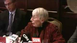 Prominent Jewish Canadian speaks out against the seige on Gaza Judith Weisman Thumbnail
