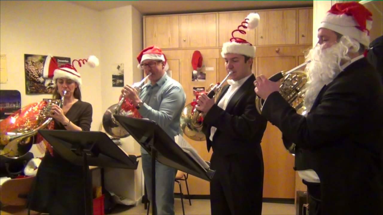 Berlin Philharmonic Horns Christmas Greetings 2012 Youtube