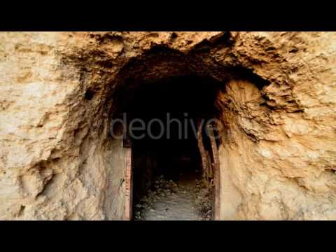 Abandon Gold Silver Mine Daytime 10 - Stock Footage | VideoHive 10974491