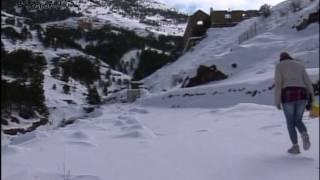 Nieve en Las Menas de Serón. de Almeria a Las Menas en 45 minutos