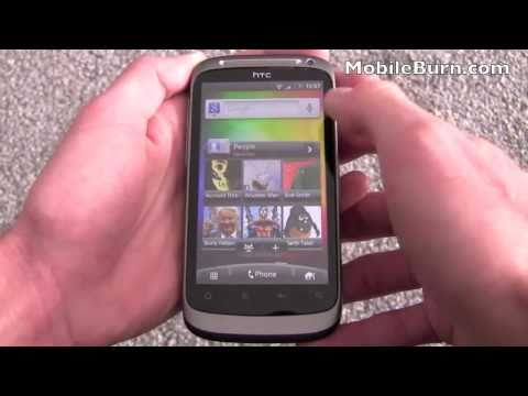 HTC Desire S video tour - part 1 of 2
