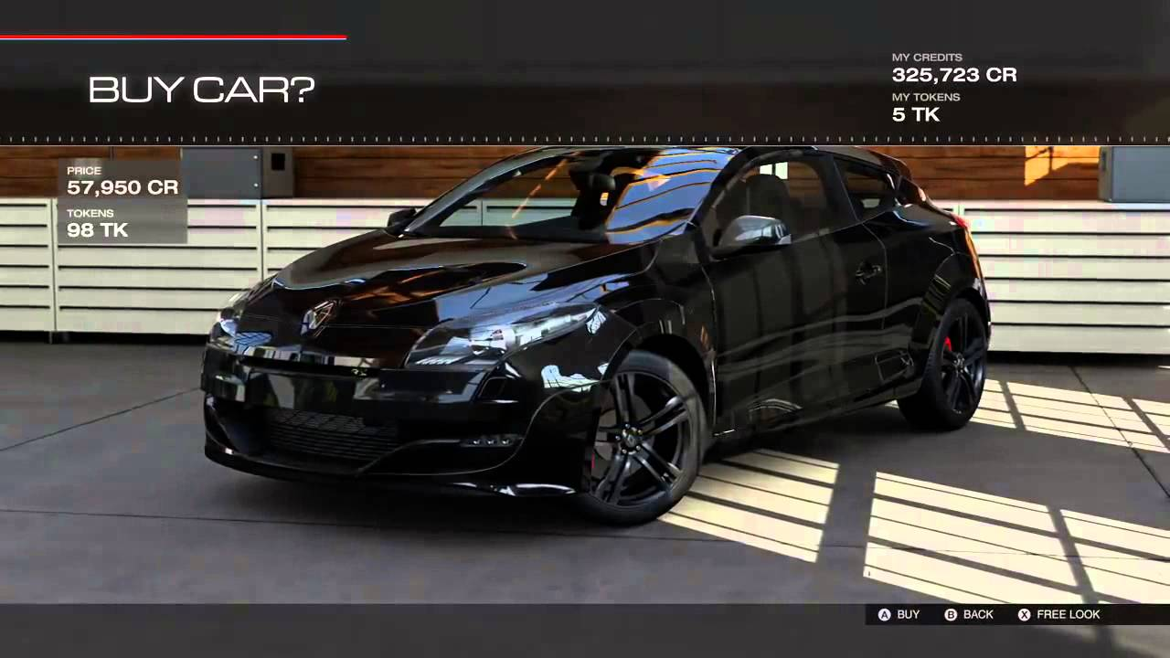New Esm 2015 Forza Motorsport 5 Buying A Black Renault