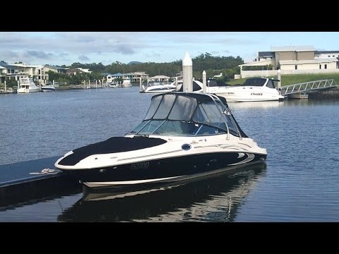 Sea Ray 270 Sundeck Bowrider for sale Action Boating Boat Dealer Gold Coast