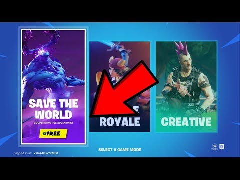 How To Get Fortnite Save The World Free! (XBOX,PS4,PC) *v12.10*