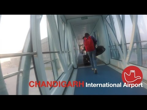 Chandigarh International Airport | Landing and Airport new terminal | Indigo 6E-884