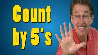 Counting by 5's | Count by 5 | Skip Counting by 5 | Count to 100 | Educational Songs | Jack Hartmann