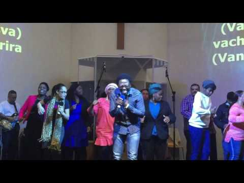 El-Shaddai Choir in Rehearsal with Mkhululi Bhebhe from Joyous Celebration SA