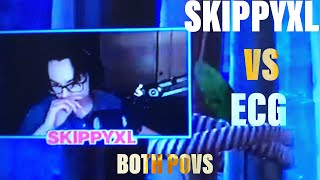 ECG VS Twitch. SkippyxL-ambos ponto de vista! -Battle Royale do Fortnite