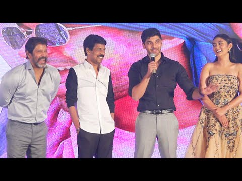 Chiyaan Vikram son Dhruv Vikram's  Speech at VARMA  Teaser Launch   Bala   Dhruv    Vikram