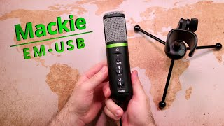 Mackie EM-USB | klanglich das bisher beste USB-Mic