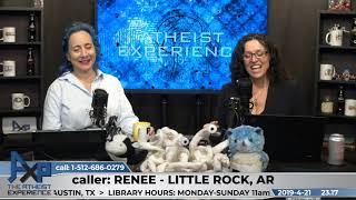 Tracie goes beast mode again | Renee - Little Rock, AR | Atheist Experience 23.17