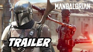 Star Wars The Mandalorian Trailer Official Easter Eggs Breakdown