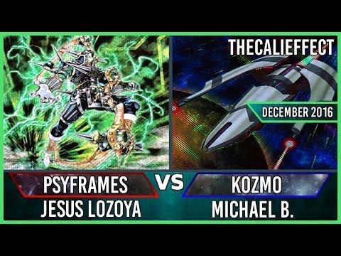 Yu-Gi-Oh Live Duel: Psy-Frame vs Kozmo (Dec 2016) [Full Match]