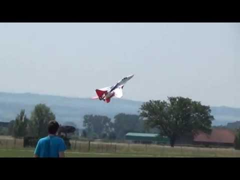 Rc Sebart Mig EDF Jet- What a fantastic Hoover Flight