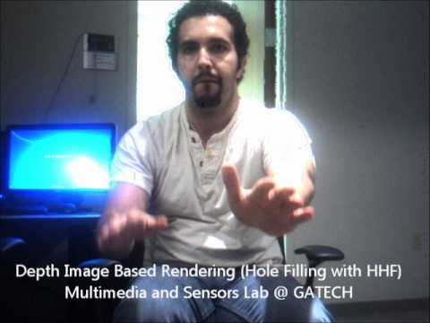 Synthesized Video with Depth Image Based Rendering after Applying Hierarchical Hole Filling