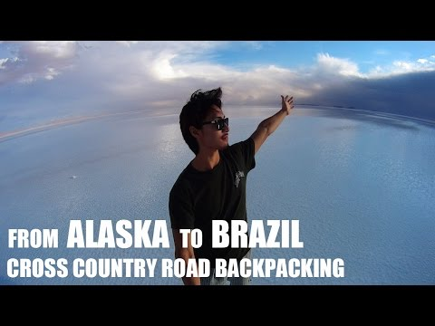 [Shane's Backpacking] From Alaska to Brazil Cross Country Road Backpacking