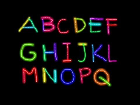 Learn to Write Letter A to Z and Sing ABC Song | Writing lesson Video for Kids with KidsDoodle