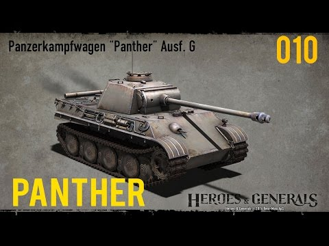 Let´s play HEROES & GENERALS | German Panther | THE BEST TANK!