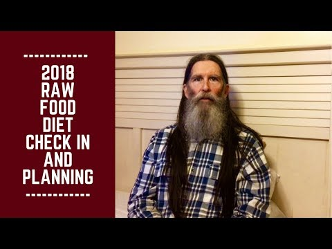 2018 Raw Food Diet Check in, Adjustments and Planning
