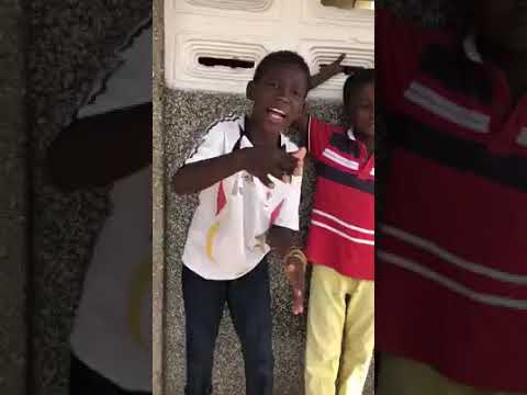 African Kids freestyle on Dancehall beats they are killing it