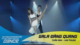 Đừng Ngoảnh Lại | Tuấn Anh - Kim Phụng | Thử Thách Cùng Bước Nhảy 2016 Gala đăng quang (21/01/2017)