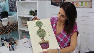 Aprenda a fazer desenho e pintura de TOPIARIA | #bonusdiadascrianças