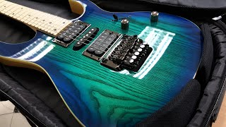 "Ibanez RG370AHMZ - Blue Moon Burst ""Close up"""