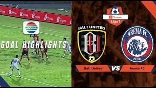Bali United (2) vs (1) Arema FC - Goal Highlights | Shopee Liga 1