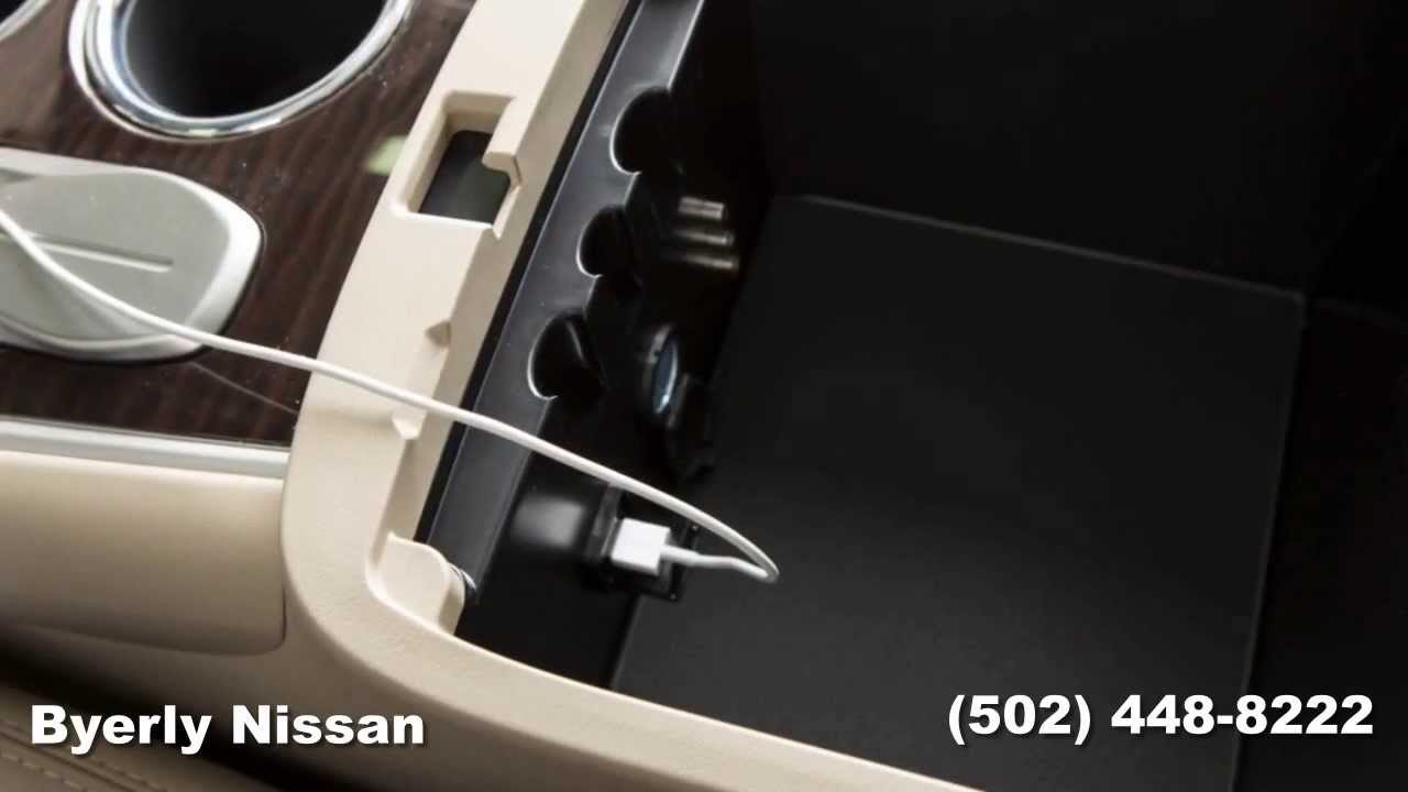 How To Use The Usb And Ipod Interface On Your 2014 Nissan