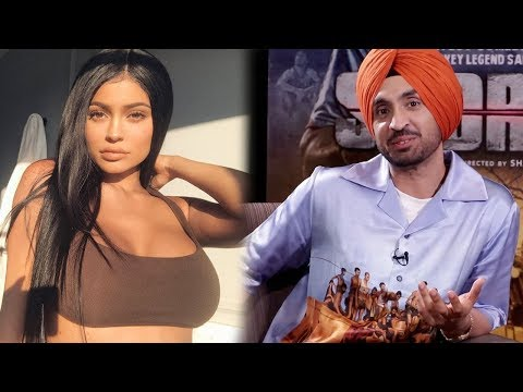 Diljit Dosanjh Talks About His Obsession With Kylie Jenner & Why He Doesn't Comment On Her Pics Now