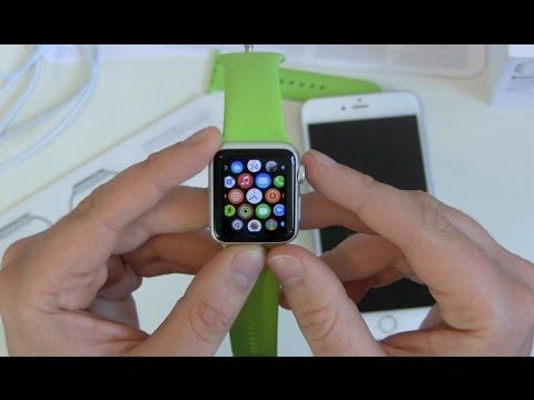 Apple Watch einrichten und erster Eindruck