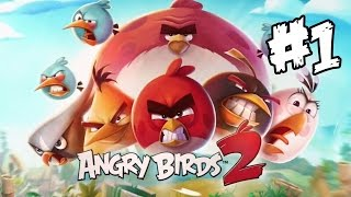angry birds 2 walkthrough part 1 first 10 levels ipad 1080p gameplay