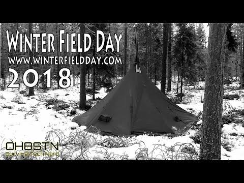 Winter Field Day 2018 Ham Radio Field Communications