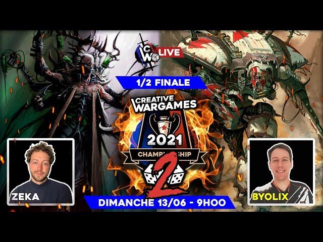 Creative Wargames Championship 2 - 1/2 de finale SMC-TS--RK VS Drukhari
