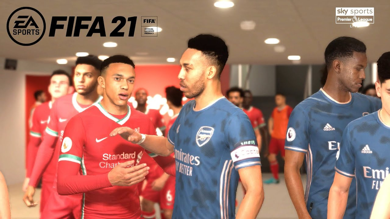 Download Liverpool F.C. vs Arsenal F.C.@Anfield| FIFA 21 Gameplay
