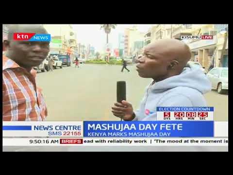 NASA leader Raila Odinga expected to hold a parallel rally in Kisumu to mark Mashujaa day