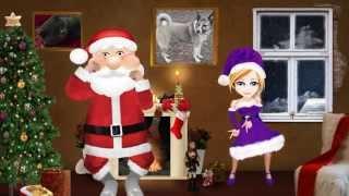 видео Поздравления от Деда Мороза и Снегурочки с новым годом козы 2015