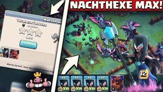NEUE NACHTHEXE LEVEL 12! | FLEDERMÄUSE VIEL ZU OP! | Meisterhütte 6 Upgrade Folge! | Clash of Clans