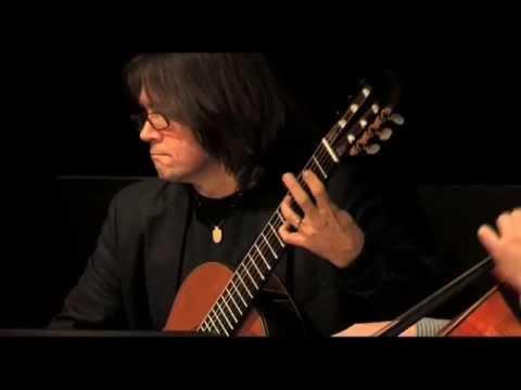 Paganini Quartet No 15 for Viola, Violin, Guitar and Cello. I Maestoso.