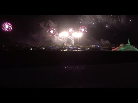 Disney Contemporary Fireworks from 12th floor