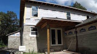Стройка дома в Тампе,США!!! Сколько стоит?!Интервью с иммигрантом...