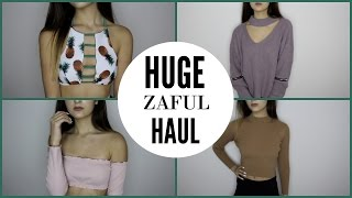 HUGE Zaful Try On Haul